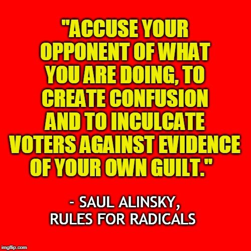 quote: Saul Alinsky
