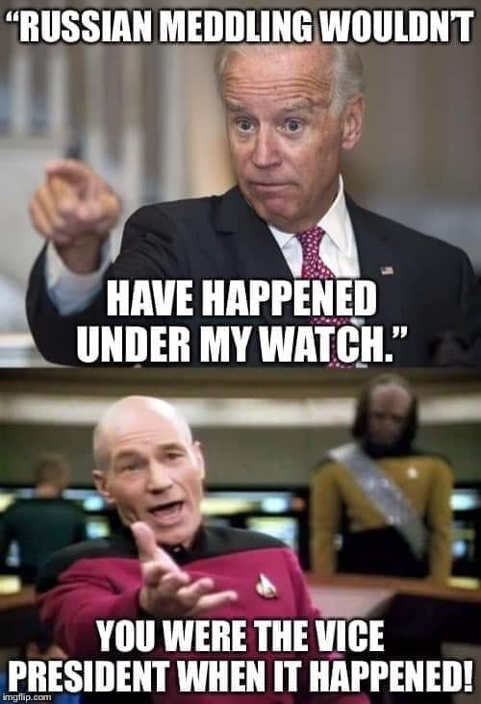 meme: Captain Picard can't believe Biden's hypocricy